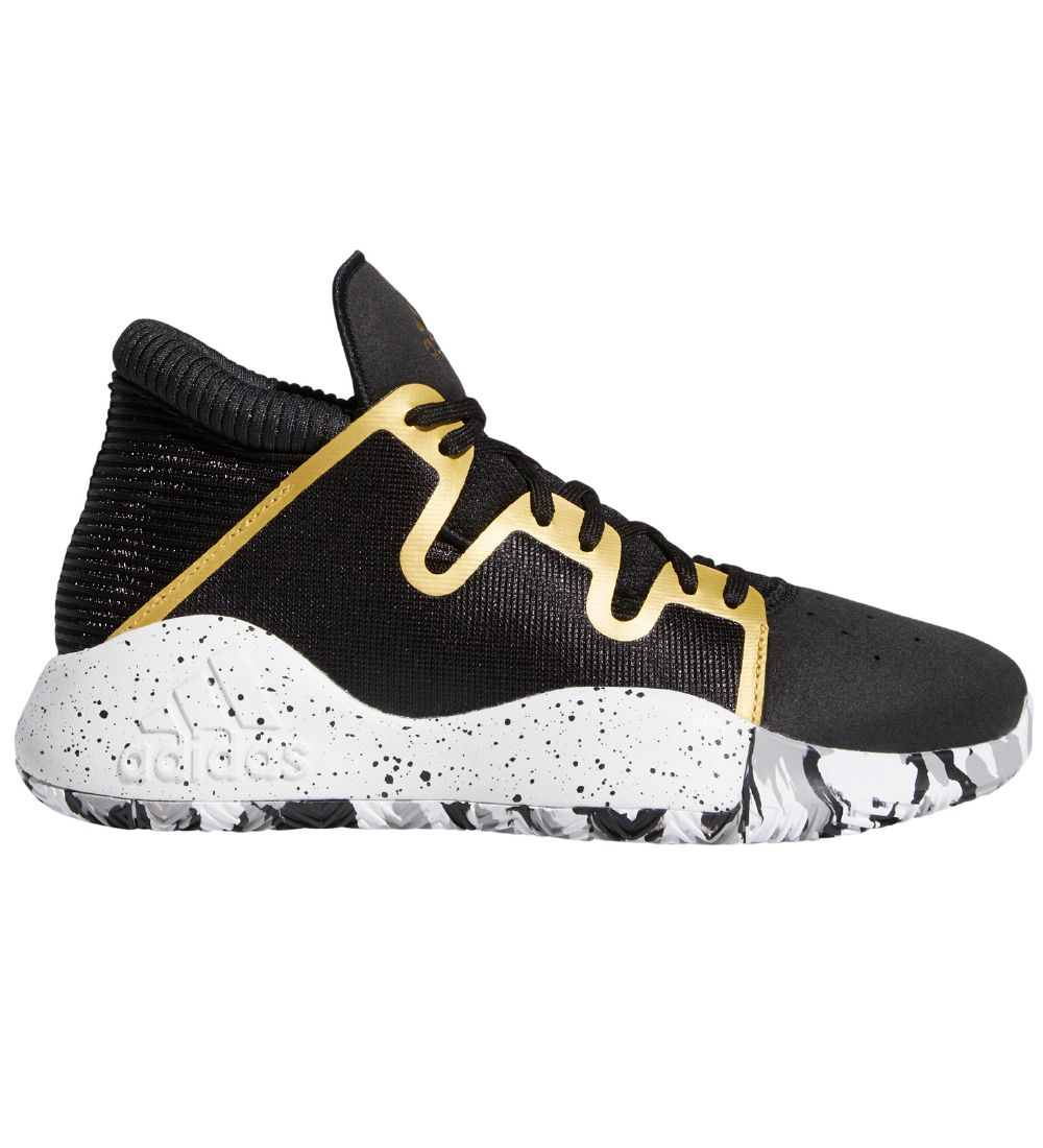 adidas Performance Trainers - Pro Vision J - Black w. Gold