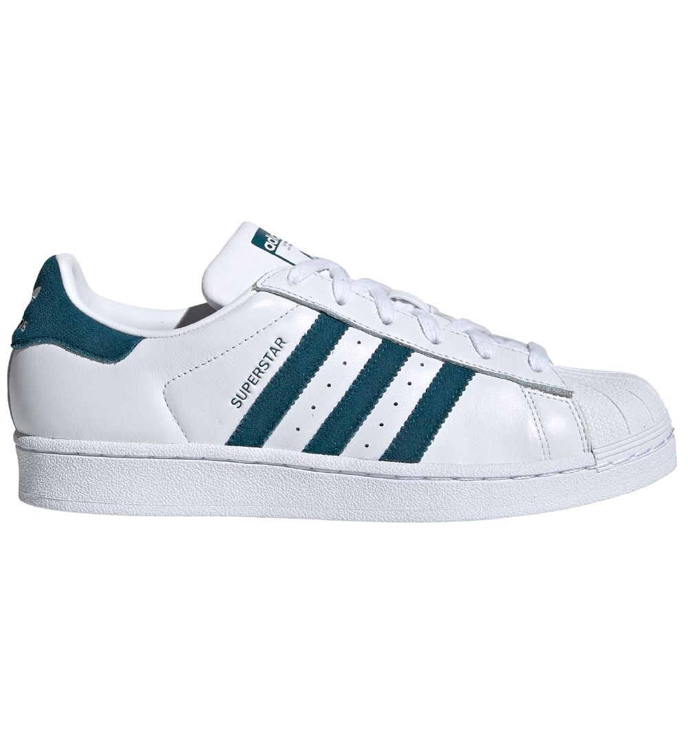 adidas Originals Trainers - Superstar W - White/Petrol