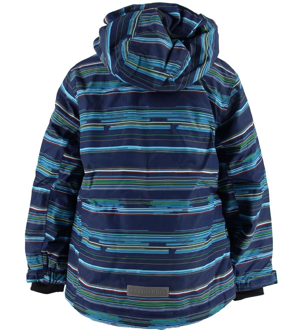 Color Kids Winter Coat - Dartwin - Hawaiian Surf