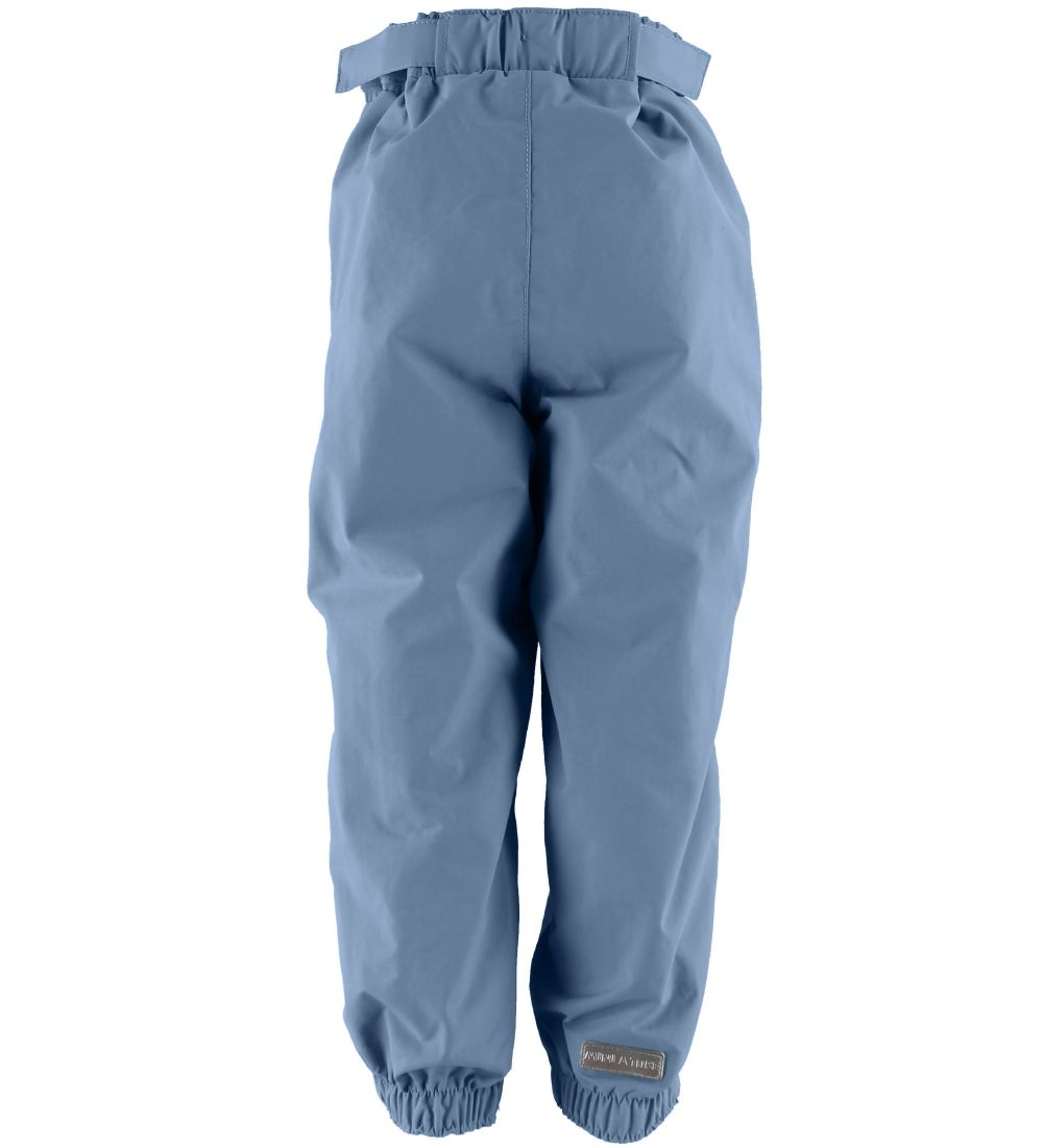 Mini A Ture Trousers - Waterrepellent - Wilans - Blue Heaven