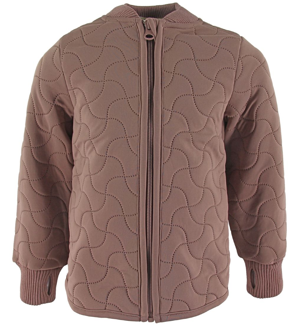 Wheat Thermo Jacket - Loui - Dusty Rouge