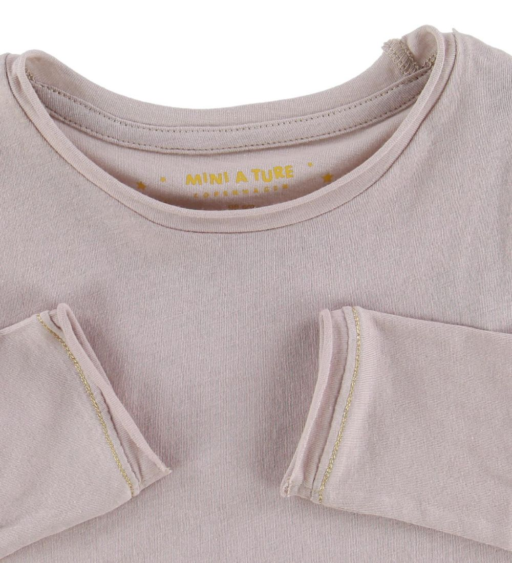 Mini A Ture X-Mas Long Sleeve Top - Eddia - Sphinx Rose