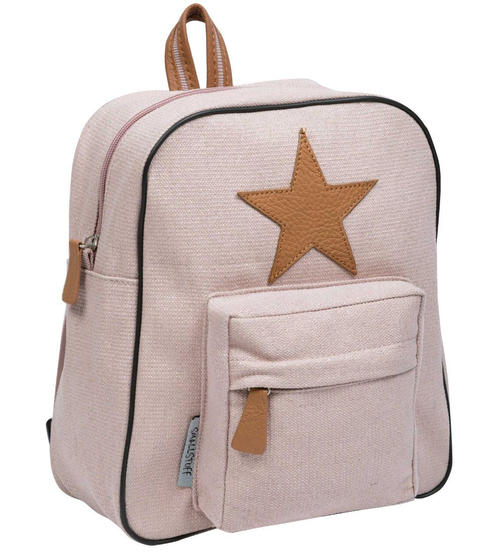 Smallstuff Preschool Backpack - Small - Powder/Gold w. Star