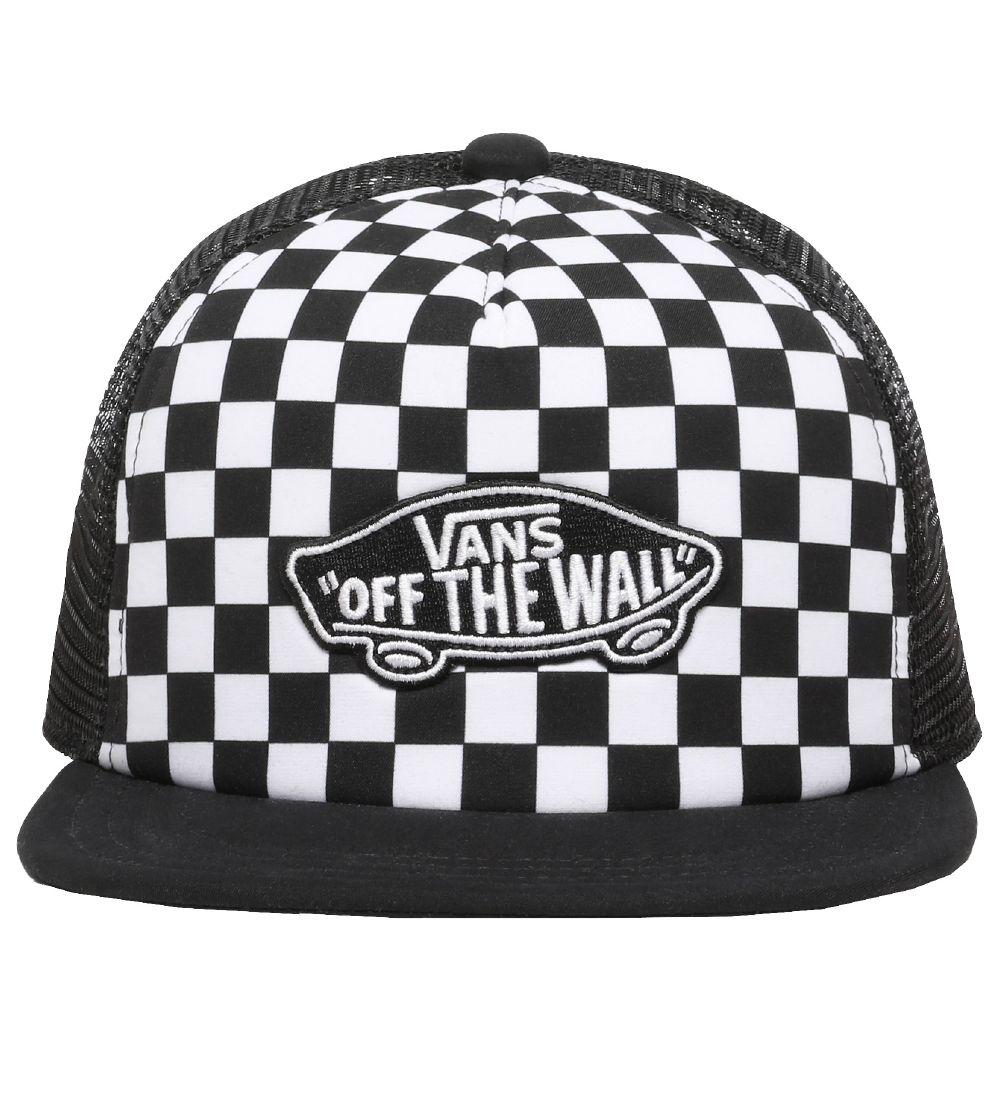 Vans Cap - Classic Patch - Black/White Check