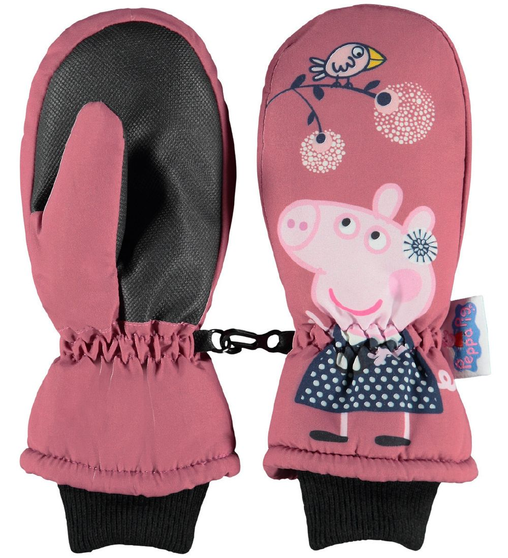 Name It Mittens - NmfPeppapig - Dark Rosa