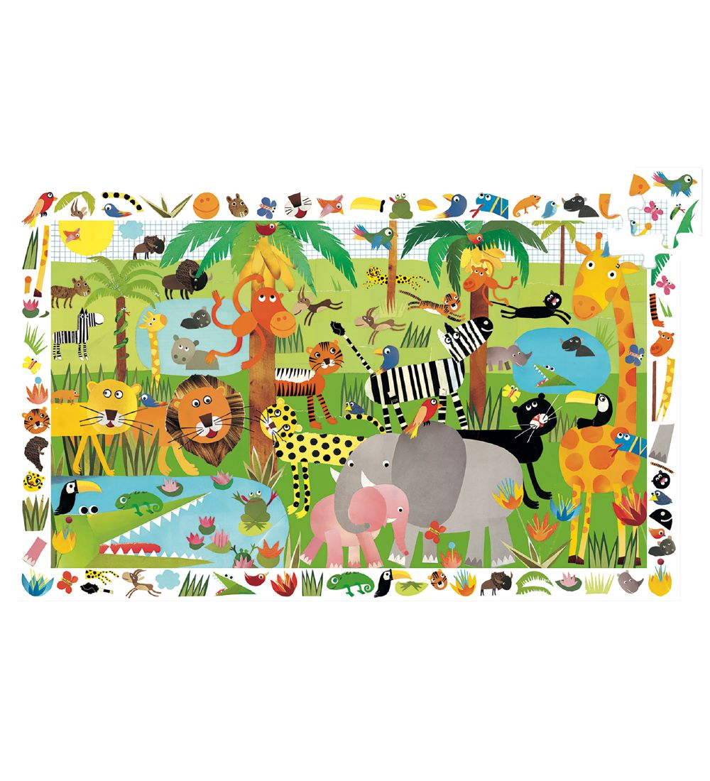 Djeco Puzzle - 35 Pieces - Jungle