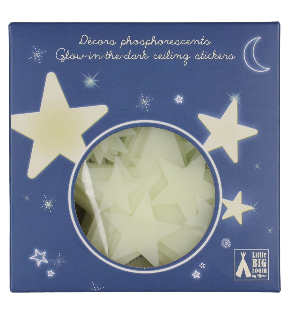 Djeco Wallsticker - 65 pcs - Luminous Stars
