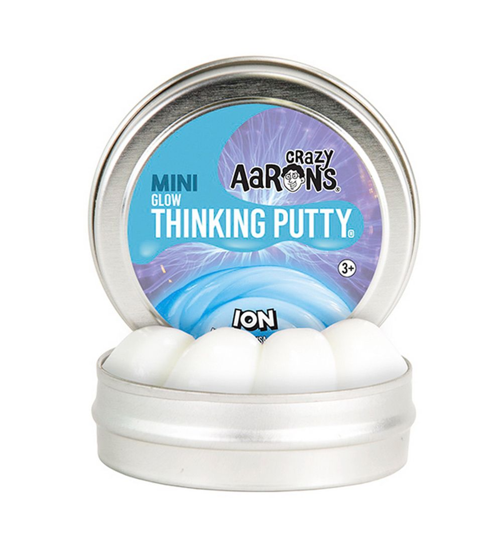 Crazy Aarons Putty Slime - Ø 5 cm - Mini Glow - Ion