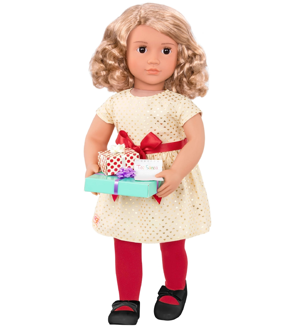 Our Generation Doll - 46 cm - Noelle w. Christmas Accessories