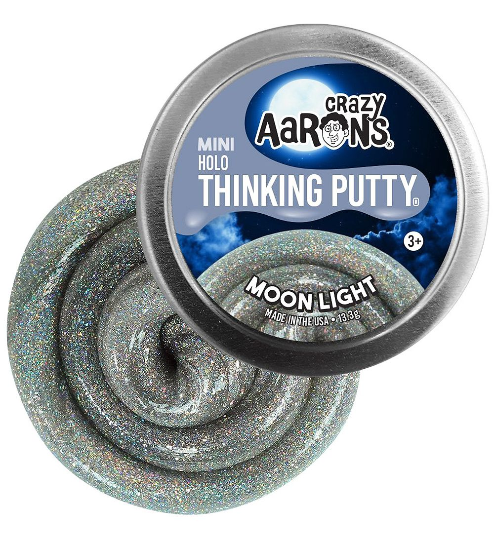 Crazy Aarons Putty Slime - 13.3g - Holo - Moonlight