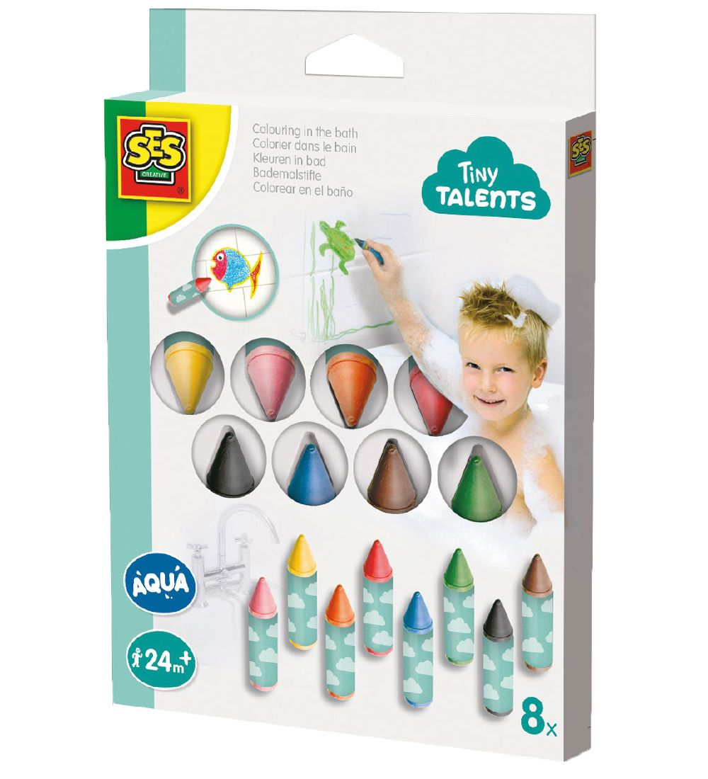 SES Creative Crayons for the bath - 8 pcs.