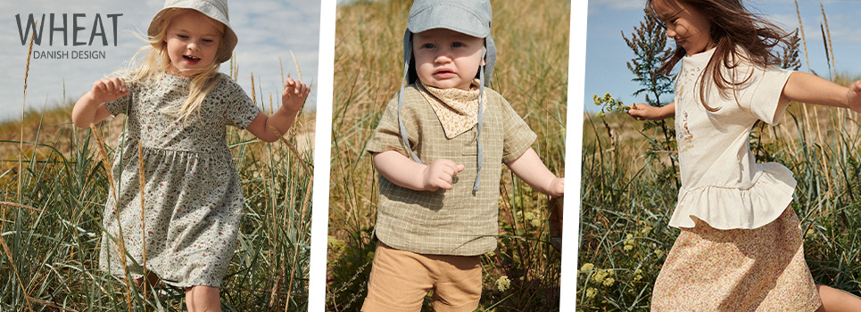Wheat Clothing & Footwear for Kids
